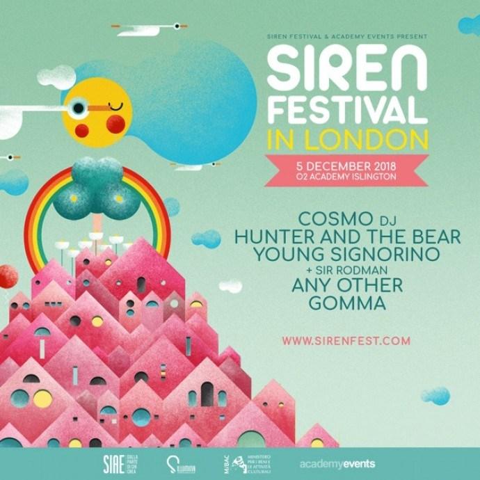 Il Siren Festival a Londra