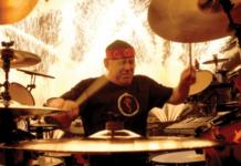 neil peart drummer rush morto batteria